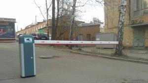 Фото шлагбаумов, установленных СК ПРОСТОR