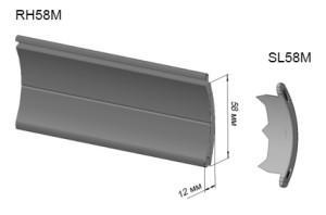 Пенозаполненный профиль RH58M