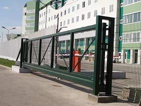 Автоматизированные ворота в туле